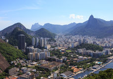 Rio aerial view Stock Photography