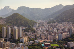Rio aerial view Royalty Free Stock Photography