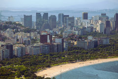 Rio aerial view Royalty Free Stock Image