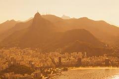 Rio aerial view Royalty Free Stock Photos