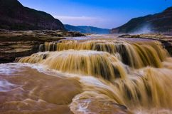 Rio amarelo Imagem de Stock