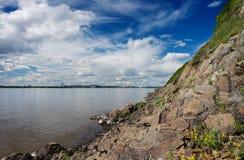 Rio Amur Fotografia de Stock