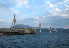 Rio-Antirion Bridge Royalty Free Stock Photos