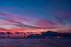 Rio - Antirrio Bridge Royalty Free Stock Photo