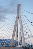 Rio Antirrio Bridge Greece Stock Photography