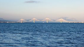 Rio Antirrio Bridge Royalty Free Stock Photo