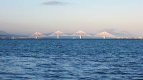 Rio Antirrio Bridge Royalty Free Stock Photo