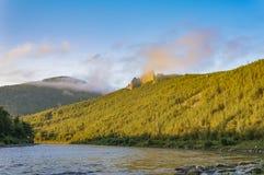 Rio Anuy da montanha Fotos de Stock Royalty Free