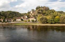 Rio Aquitaine Imagens de Stock