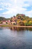 Rio Aquitaine Foto de Stock Royalty Free