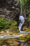 Rio Arno Waterfall, Gran Sasso - Italy Royalty Free Stock Images