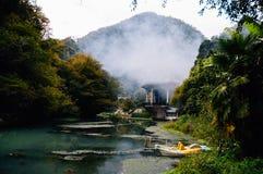Rio Athos novo, a Abkhásia imagens de stock