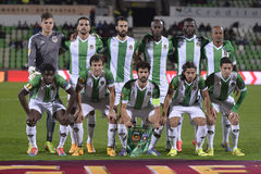Rio Ave Futebol Clube line up Royalty Free Stock Photos