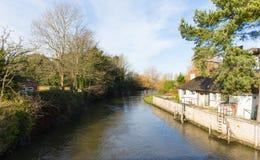 Rio Avon Christchurch Dorset Inglaterra Reino Unido Imagens de Stock