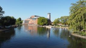 Rio Avon em Stratford video estoque