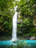 Rio Celeste waterfall Stock Photo