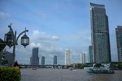 Rio Banguecoque de Chao Phraya Imagens de Stock Royalty Free