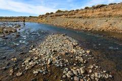 Rio Barrancoso sekcja zdjęcie royalty free