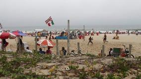 Rio beach stock video