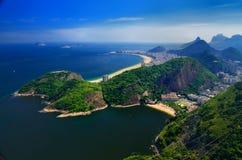 Rio beskådar Royaltyfria Foton
