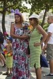 Rio Blocao Dog Carnival em Copacabana fotografia de stock