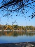 Rio bonito Danúbio fotos de stock