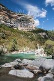 Rio bonito de Verdon Fotografia de Stock