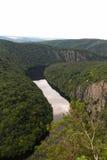 Rio bonito em República Checa fotografia de stock