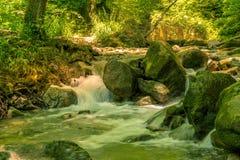 Rio bonito Mebre e rochas grandes 7 Foto de Stock Royalty Free