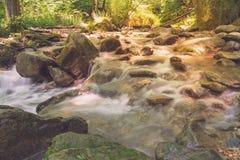 Rio bonito Mebre e rochas grandes 4 Fotos de Stock