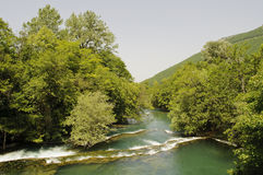 Rio bonito Una imagem de stock