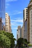 Rio Branco avenue Stock Photo
