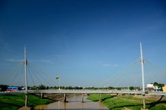 Rio Branco Bridge. Bridge at Rio Branco, Acre, Brazil. Amazon river Royalty Free Stock Image
