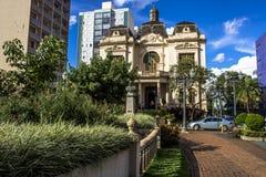 Rio Branco pałac zdjęcie stock