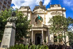 Rio Branco-Palast Lizenzfreies Stockfoto