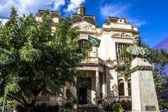 Rio Branco-paleis royalty-vrije stock afbeelding