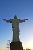 Rio Brazil looking at Christ Statue Royalty Free Stock Image
