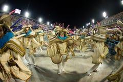 Carnival 2019 - Estacio de Sa. Rio, Brazil - march 02, 2019: Estacio de Sa during the Carnival Samba School Carnival RJ janeiro parade dancer costume brazilian stock image