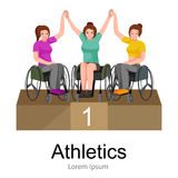 Rio 2016, brazilian game for handicapped, disability sport, athlete with prosthesis Stock Photography