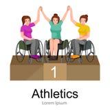 Rio 2016, brazylijska gra dla niepełnosprawnego, inwalidzkiego sporta, atleta z prosthesis Fotografia Stock