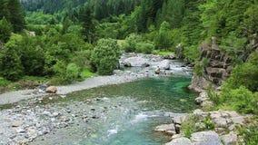 Rio Bujaruelo de Rio Ara no vale Pyrenees Huesca Aragon de Valle de Ordesa filme