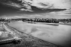 Rio calmo Foto de Stock
