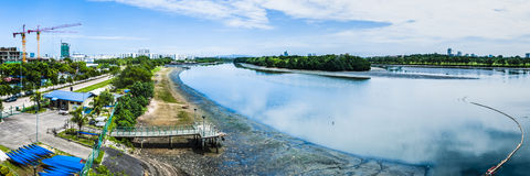 Rio calmo Imagens de Stock