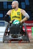 Rio 2016 - campeonato internacional do rugby da cadeira de rodas Fotos de Stock Royalty Free
