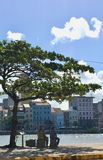 Rio Capeberibe in Recife lizenzfreie stockfotografie