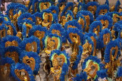 Rio Carnaval Royalty-vrije Stock Afbeeldingen