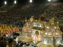 Rio Carnaval, 2008. Stock Foto's