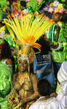 Rio Carnaval 6. Entertainers performing at a carnaval in Rio, Brazil Stock Photos