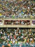 Rio Carnival. Crowds watching Rio Carnival Stock Image
