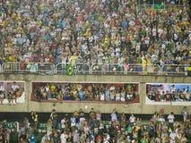 Rio Carnival. Crowd at Rio Carnival Stock Image
